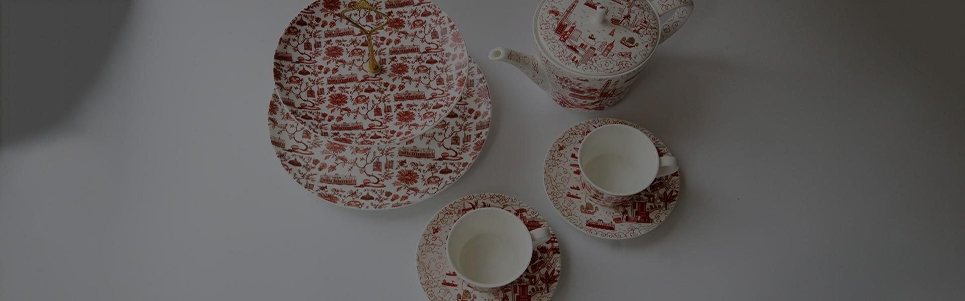 Cake Stands & Tea Sets