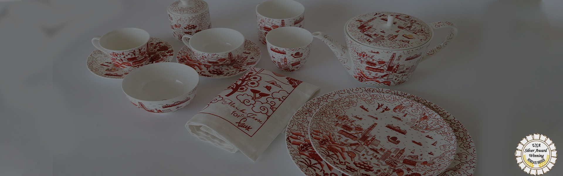 Hong Kong Willow Pattern Collection
