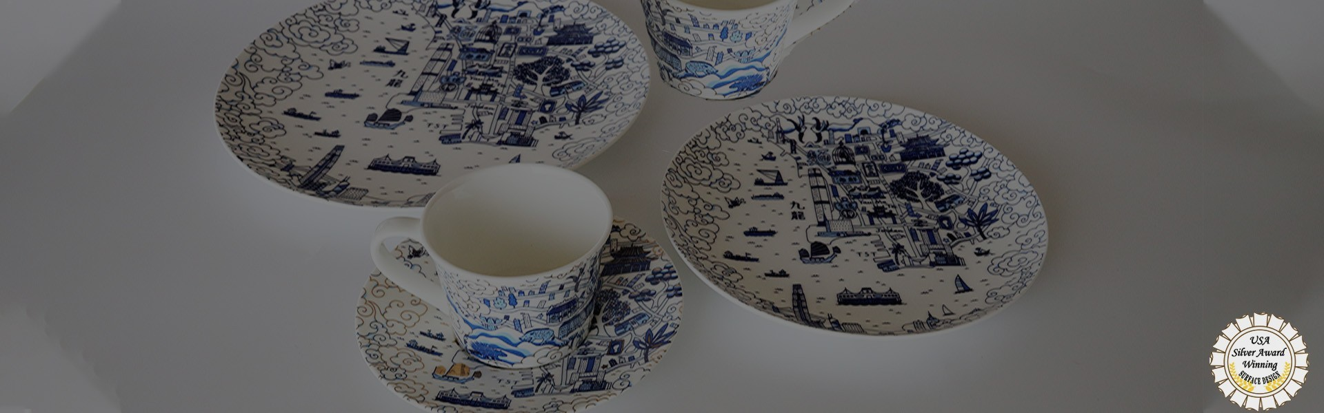 Kowloon Willow Pattern